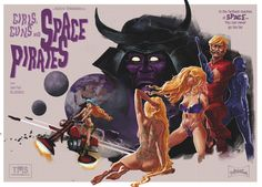Girls, Guns, and Space Pirates.