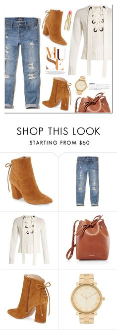 """Untitled #1366"" by christinacastro830 ❤ liked on Polyvore featuring Kristin Cavallari, Hollister Co., Joseph, Mansur Gavriel, Michael Kors and L'Oréal Paris"