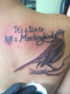 mockingbird tattoo tattoo pinterest. Black Bedroom Furniture Sets. Home Design Ideas