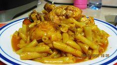 תבשיל עוף בשעועית צהובה ! - היצירה של הלב @ - תפוז בלוגים