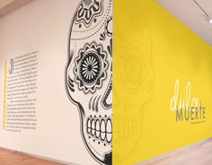 'Dulce Muerte' Museum Exhibition and Promotional Design