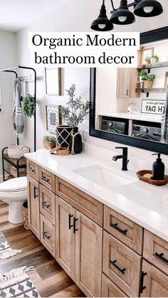 Master Bedroom Bathroom, Upstairs Bathrooms, Bathroom Renos, Laundry In Bathroom, Bathroom Ideas, Bathroom Inspo, Bathroom Vanity Farmhouse, Cozy Bathroom, Restroom Ideas