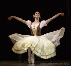 Another costume, Polina Semionova in Giselle.