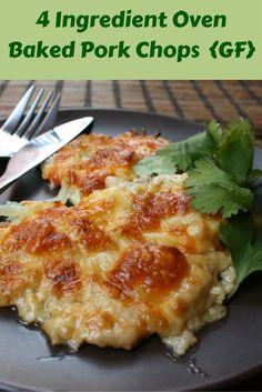 Low fat baked pork chops recipe