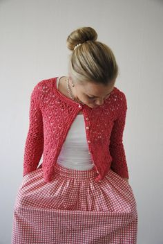 FREE knitting pattern: Surry Hills cardigan by Maria Magusson.