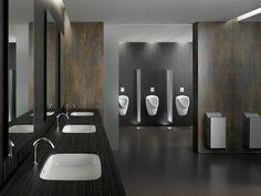 Public bathroom (no-touch)