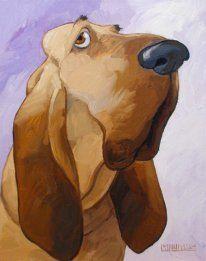 A Georg Williams caricature Animal Paintings, Animal Drawings, Art Drawings, Dog Illustration, Illustrations, Creation Photo, Cartoon Dog, Dog Portraits, Whimsical Art