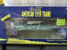 Other S Scale 16509: American Flyer Lti 6-48529 Nyc Flat Car (2-5-14 #1) -> BUY IT NOW ONLY: $36 on eBay!