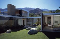 Richard Neutra's Kaufmann House. See more, click on the image.