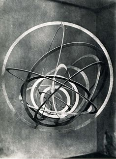 Alexander Rodchenko: Hanging Spatial Construction no. 9 (Circle in a Circle), 1920-1921/1993