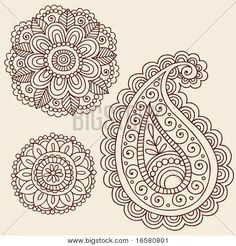 free henna template - Google Search