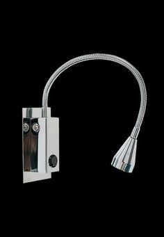 GMGE - LED-AP - Aplique con fuente para marco de cama e interruptor. Medidas: 35X430 1 X 3W LED
