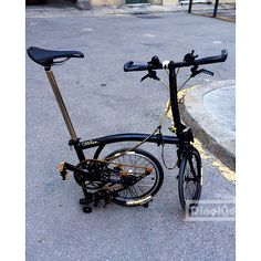 Jorge CG black brompton bicycle | DinoKiddo
