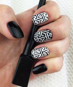 Sharp Lines Nail Stencils Set incredible nail art vinyl