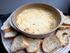 White Pizza Dip! A football season favorite!
