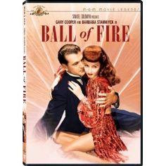 """Ball of Fire"" starring Gary Cooper, Barbara Stanwyck (1941)"