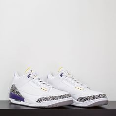 online store 02cef 869d7 Air Jordan IIIs gifted to Kobe Bryant. complexkicks by complexsneakers Air  Jordan Iii,
