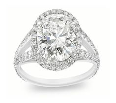 Shop for Auriya 1 carat TW Round Halo Diamond Engagement Ring Set Gold. Get free delivery On EVERYTHING* Overstock - Your Online Jewelry Destination! Diamond Cross Necklaces, Diamond Jewelry, Diamond Rings, Unique Diamond Engagement Rings, Bridal Rings, Or Rose, Rose Gold, Split Shank, Moissanite