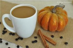 Dairy Free Pumpkin Spice Coffee Creamer (Vegan/No Sugar Added) And PALEO!
