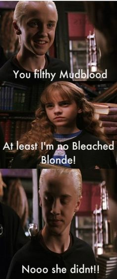 harry potter funny | Harry Potter Vs. Twilight Funny Malfoy