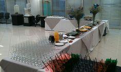 Empresa especializada em eventos corporativo, com buffet proprio