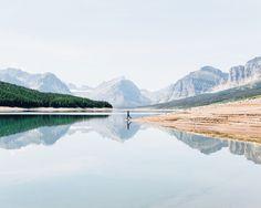 adventure, art, lake, mountains, nature