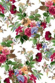 H-XU - pattern design - 2 - Walanwalan Floral Wallpapers, Vector Flowers, Bunch Of Flowers, Birthday Dresses, Screen Wallpaper, Flower Wall, Door Design, Fashion Prints, Beautiful Flowers