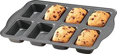 Miles Kimball Silver Mini Loaf Pan *** Startling review available here  : Bread and Loaf Pans