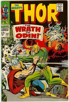 thor comic | CLICK TO ENLARGE!!! :: THOR #147 9.2