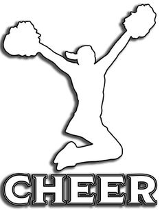Cheer Sticker Vinyl Cling – Purposely Designed