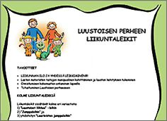 Liikuntakortit Preschool, Teacher, Comics, Professor, Kid Garden, Nursery Rhymes, Comic Book, Comic Books, Kindergarten