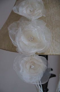 Creative Eyedias: Fabric Flower Necklaces