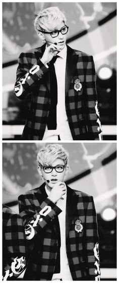 Tao #exo you are definitely lying if you say you haven't got a thing for Tao in glasses