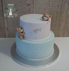 Ristiäiskakku pojalle, Christening cake for boy