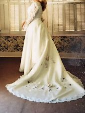 Ivory Wedding Gown Size 14