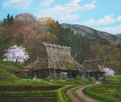 Japan Traditional Folk Houses #kyoto