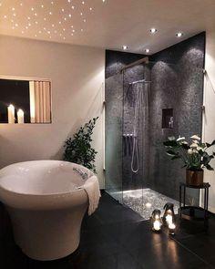 Decoration Design, Deco Design, Bad Inspiration, Bathroom Inspiration, Modern Bathroom Decor, Bathroom Interior Design, Bathroom Designs, Dream Bathrooms, Amazing Bathrooms