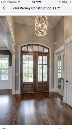 Front entrance. Door