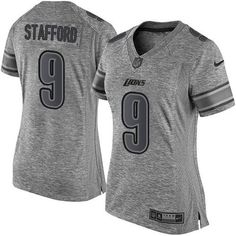 Nike #Lions #9 #Matthew #Stafford Gray Women's Stitched NFL Limited Gridiron Gray… #NFL #football #patsnation #boston #footballlife #TomBradyJerseys #CamNewtonJerseys #RobGronkowskiJerseys