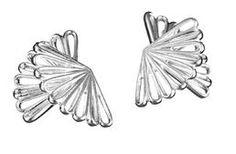 PauliinaK / Lumoava - Blue Wing (earrings)