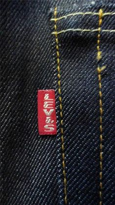 """LVC item number: This particular model was originally released as the Z,"""" and represents Levi's expansion into new territory. Vintage Jeans, Vintage Outfits, Vintage Clothing, Blue Jeans, Denim Jeans, Levis 501, Levis Shop, Mens Fur, Raw Denim"""