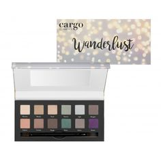 Cargo Wanderlust Palette Eye Palette, Makeup Palette, Eyeshadow Palette, Blending Eyeshadow, Eyeshadow Brushes, Cargo Cosmetics, Makeup Cosmetics, Mascara Brush, Brush Kit