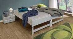 Ausziehbett On Top kann bequem in ein Doppelbett umgewandelt werden Spare Room, Furniture, Daybeds, Home Decor, Products, Twin Size Beds, Space Saving, Mattress, Beds