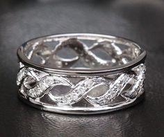 Hey, I found this really awesome Etsy listing at http://www.etsy.com/listing/165816678/unique-eternity-band-hsi-diamond-14k