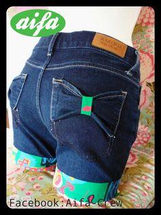 Dicas Aifa: 4 ideias para transformar as velhas calças em calções cheios de estlo
