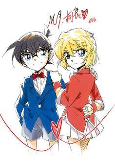Conan & Haibara >> detective conan