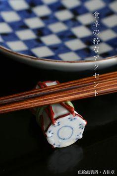 鼓の箸置き