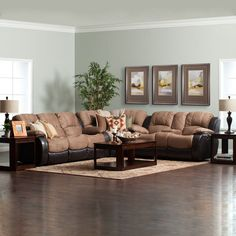 A Top Pick For Comfort, The Victory Reclining Sectional   Jeromeu0027s Furniture  Living Room Furniture