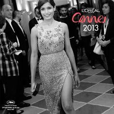 #Freida Pinto #backstage  #Look #Cannes2013 #MakeUp #LorealParisAr