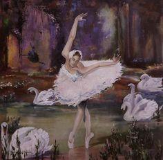 Carolina Serpa Marques, 1966 ~ Figurative painter | Tutt'Art@ | Pittura * Scultura * Poesia * Musica | Ballerina Kunst, Ballerina Painting, Swan Pictures, Art Pictures, Art Pics, Dance Paintings, Carmen Miranda, Ballet Art, Watercolor Pictures